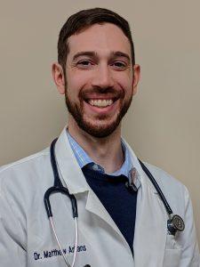 Dr. Matt Arkans, Radiation Oncologist