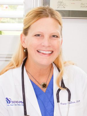 Dr. Tracy LaDue, PetCure Oncology at SEVO-Med