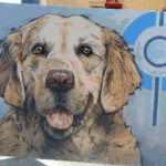 Lucky Voth Painting PetCure Oncology