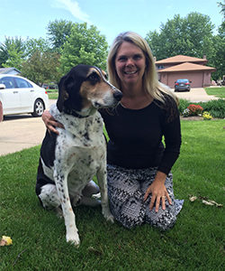 Sue Wojciechowski PetCure Program Director at Milwaukee center