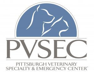 PVSEC logo Pittsburgh veterinary specialty and emergency center