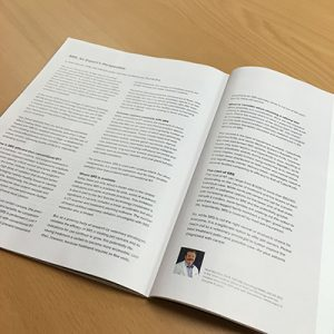 Trends Magazine SRS Experts Perspective Article by PetCure Oncology Chief Medical Ofcicer Neal Mauldin